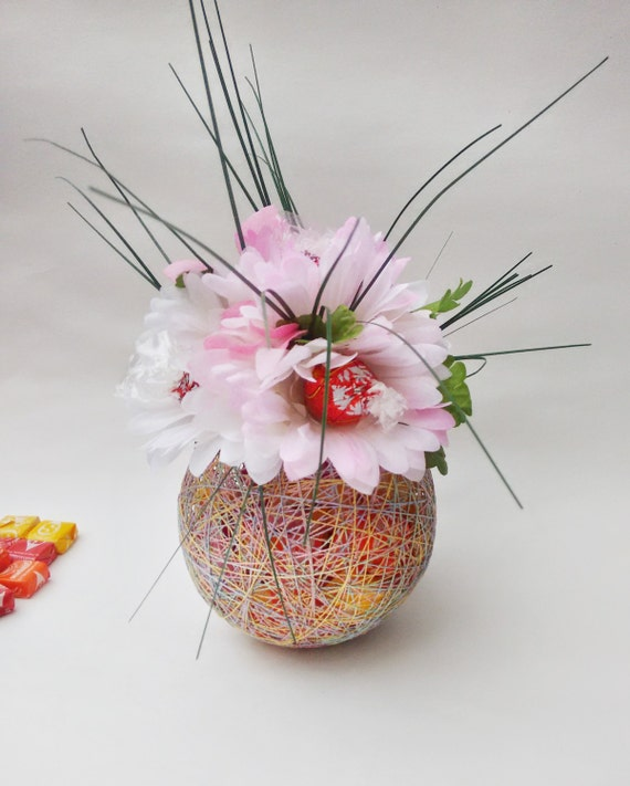 Lindor. Fruity candy. Candy bouquet. Candy arrangement. Candy gift