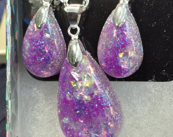 Tear Drop Pendant Sets