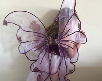 Purple fairy wings to match emily dress