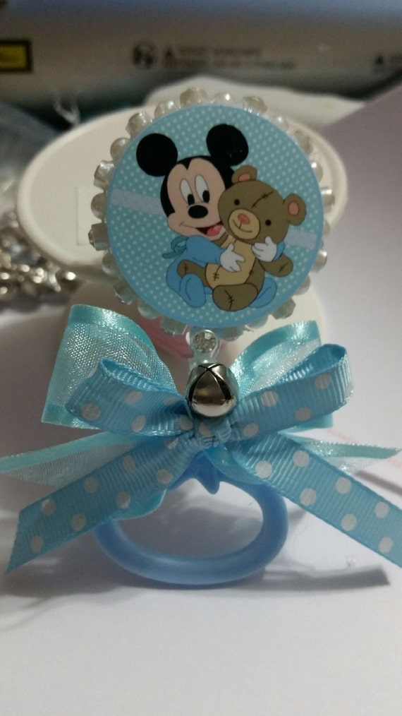 baby shower pins capias mickey baby shower favors by southflower