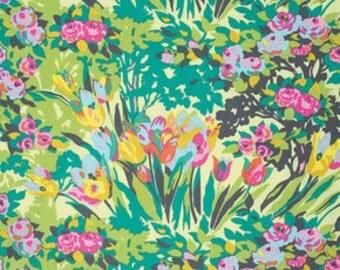 Amy Butler - Violette Meadow Blooms Butter (Half metre)