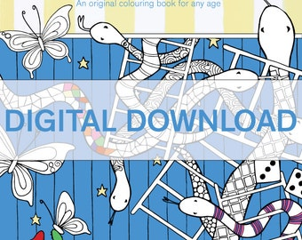 Just Add Colour - colouring book volume 2(digital download)