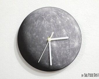 Planet Mercury - Wall Clock