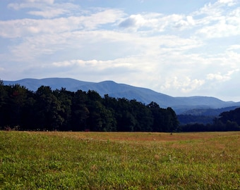 Instant Download Cades Cove Picture- Mountains - Wallpaper or Background - Printable