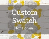 Sample Swatch for Donna