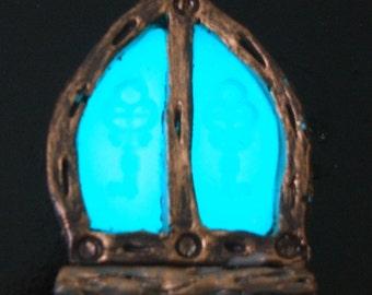 Fairy House Window- Glow in the Dark
