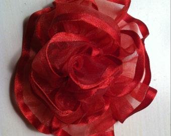 Rose Catrina hair clip