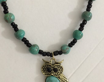 Lovely owl necklace