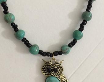 Lovely owl necklace