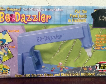 Vintage BeDazzler New in Box with Rhinestones, Studs & Settings