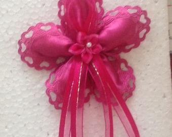 Jordan Almond Flower Ribbon Wedding/Shower/Baptismal Favors