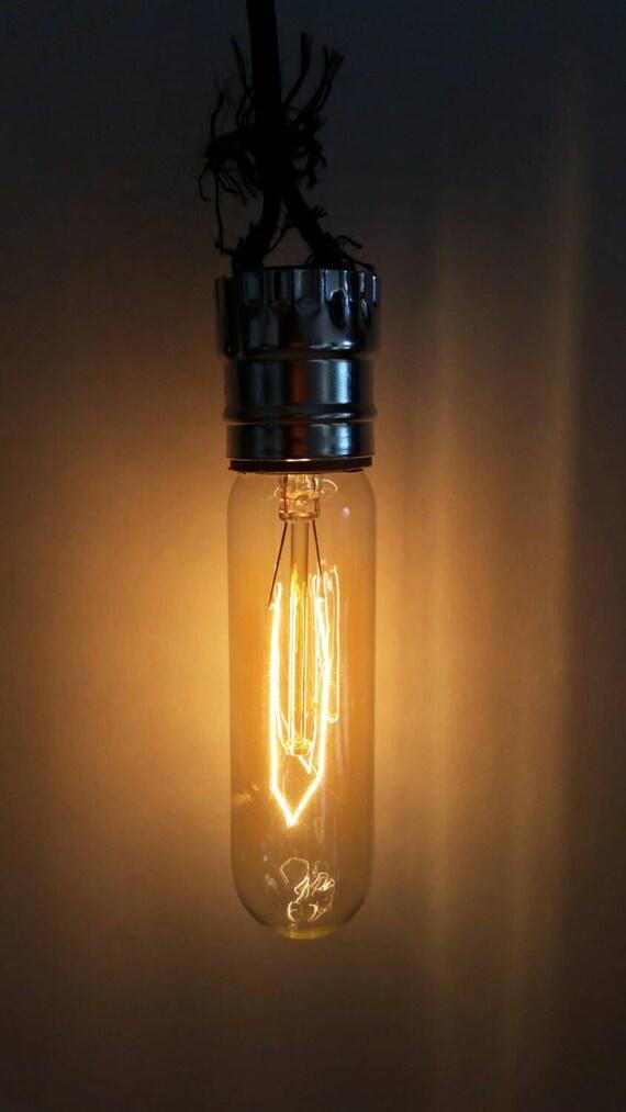 edison style tubular bulbs 40 watt medium base. Black Bedroom Furniture Sets. Home Design Ideas