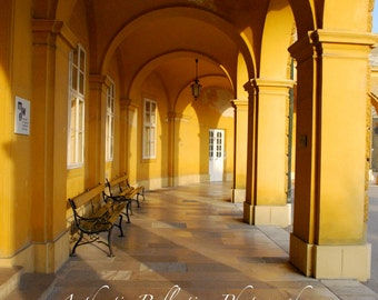 Limited Edition Color/Vienna Austria/Scintillating Schönbrunn 8x12 Metallic Specialty Paper Print