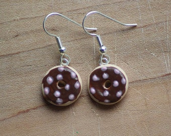 Clay Donut Earrings