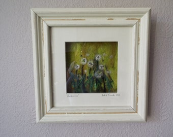 Textile Picture 'Dandelion Meadow' by Adele Froude