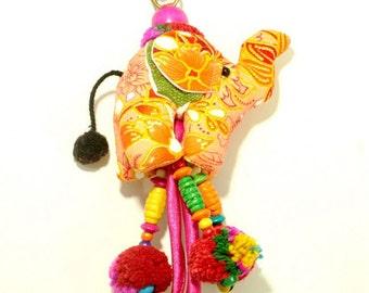 Elephant bag Charm,keyholder  ---  1118
