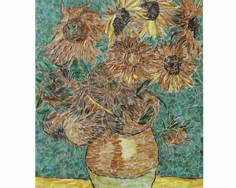 SOLD / For example / 'Sunflowers' of Van Gogh