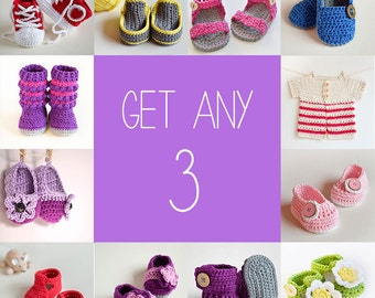 Any 3 - You choose any 3 patterns
