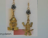 Ecuadorian Charms Earrings - RESERVED