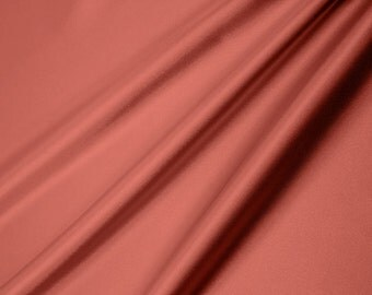 Shannon Fabrics Silky Satin Solid Coral 200