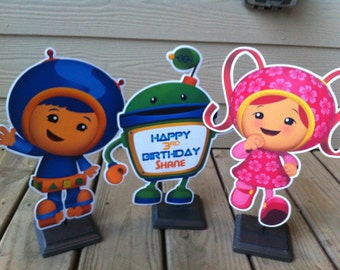 Team Umizoomi Centerpieces, Team Umizoomi Birthday Party Centerpieces