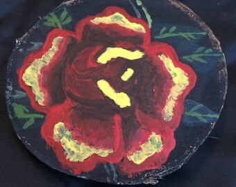 Rose Wood Painting