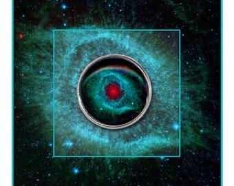 Helix Nebula Pin/Brooch