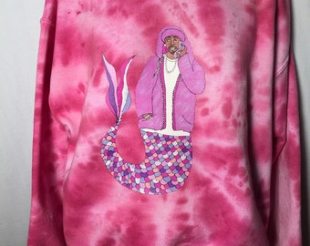 Cam'ron Mermaid Crewneck Sweatshirt
