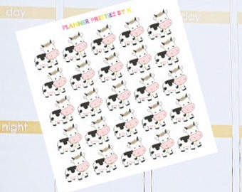 Cow stickers | Set of 25