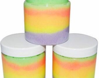 Whipped Rainbow Sugar Scrub