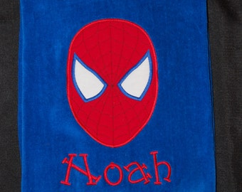Personalized Beach Towel - Spiderman Beach Towel