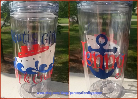Nauti Girls Sip And Cruise Personalized By Personalizedbypenny