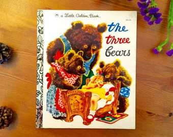 The Three Bears - Vintage Little Golden Book