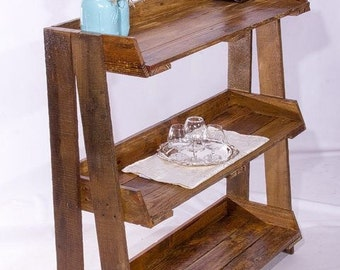 Rustic Foyer Stand