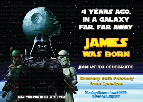 Ben noto Inviti Compleanno Star Wars Da Stampare Gratis DJ55 » Regardsdefemmes QW39