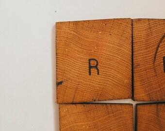 Wood Coaster Set- Custom branded