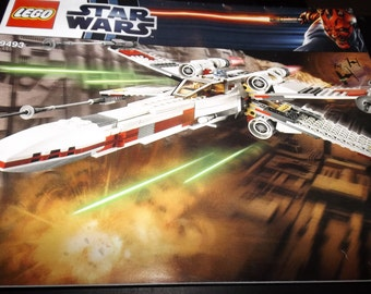 Lego Star Wars assembly booklet 9493