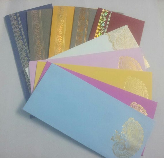 Wedding Gift Cash Envelope : 10 Envelopes for Money Gift Thanksgiving Diwali Festival, Baby Shower ...