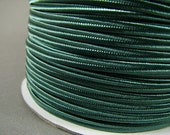 SOUTACHE BRAID - Sage Green (A103) - 3 meters of CHUBBY rigid nylon soutache 3mm wide. Top quality soutache braid for jewelry making