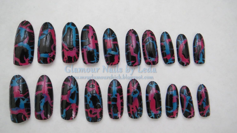 Shatter Polish Nail Art