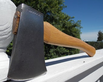 Stanley Camp axe vintage with a new 14 in handle of American Hickory