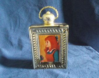 Vintage Avon Picture Frame Decanter Bottle FULL of Charisma Cologne
