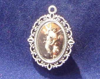 Guardian Angel Religious Medal