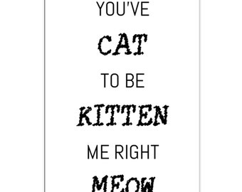 Card Cat Quote