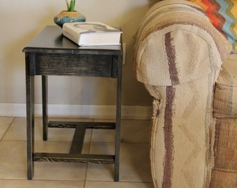 Hand Made End Table - Occasional Table, Plant Stand, End Table, Lasts Forever - Choose Your Stain