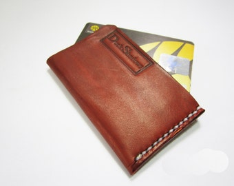 Leather Card Holder,wallet , Handmade Leather wallet ,genuine leather