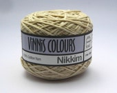 Set of 2 x 50g double knit balls - Vinnis Colours, 100% cotton yarn, hand dyed, - Dunes