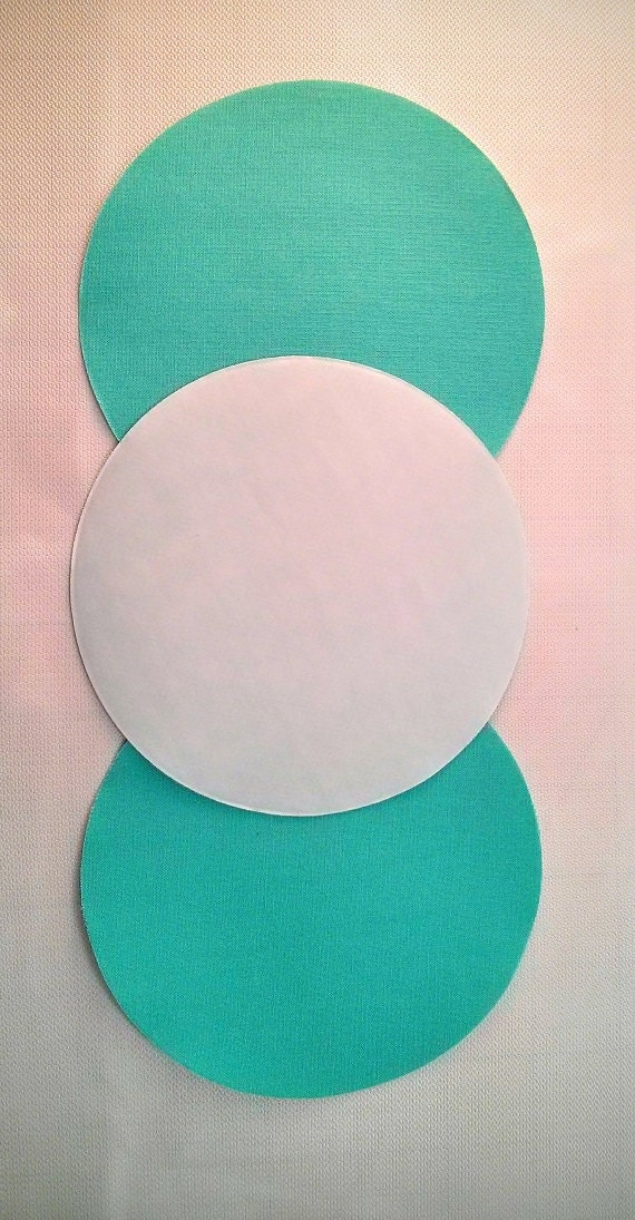 Circles 5 Inch Die Cut Fusible Pool Kona Cotton From