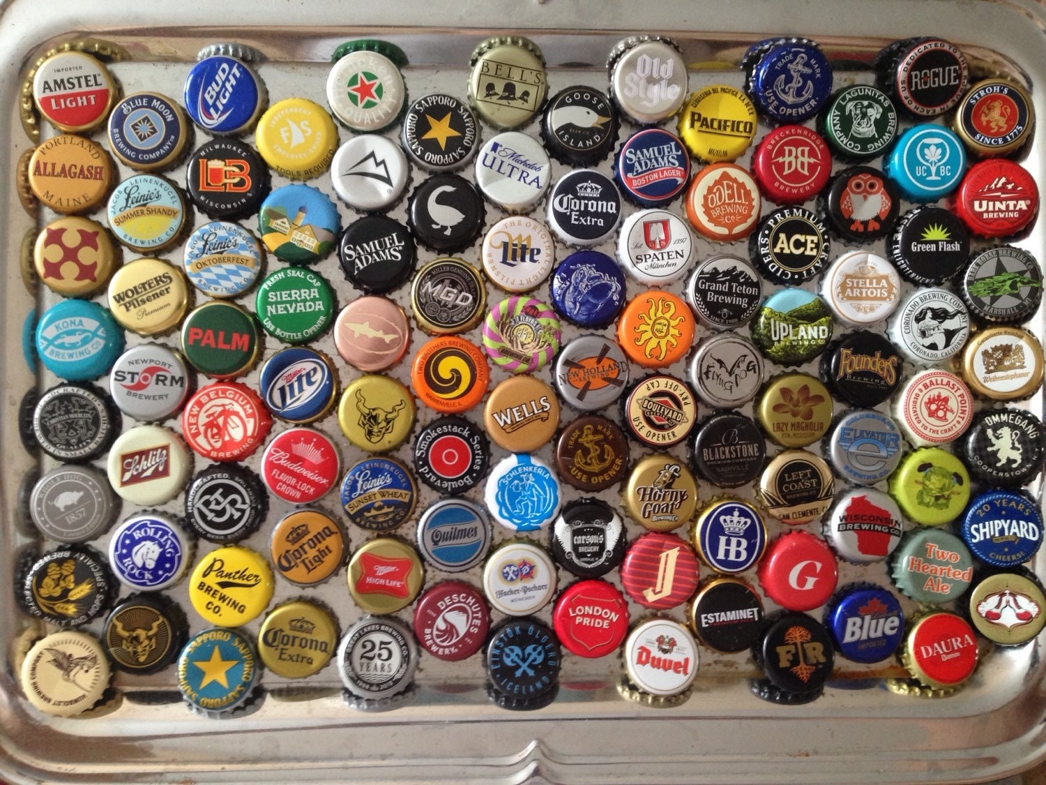 Craft beer bottle cap magnets microbrewery beer bottle cap for What can i make with beer bottle caps