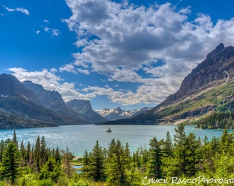 Photo Art - Mountain Photography - Mountain Lake